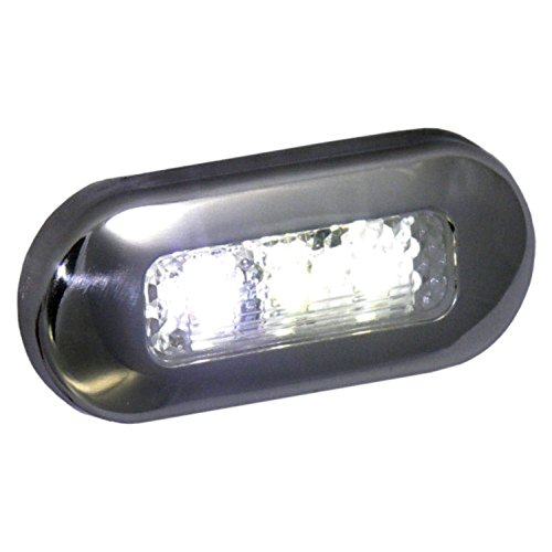 - T-H Marine LED-51825-DP LED Oblong Courtesy Lights - White