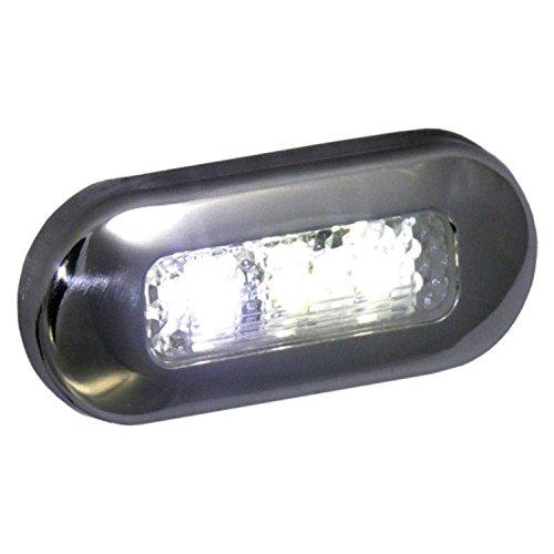 Marine Courtesy Light - T-H Marine LED-51825-DP LED Oblong Courtesy Lights - White