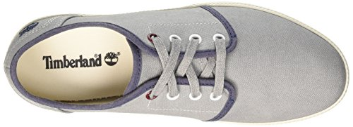 Timberland Newport Bay Canvas P, Náuticos para Hombre Grau (Grey/Sleet)
