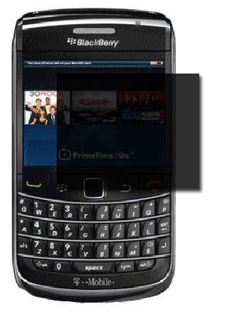 PRIVACY Screen Protector - Blackberry BOLD 2 9700