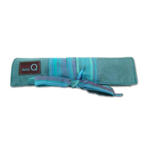 della Q Solely Socks Knitting Roll for Double Point Knitting Needles; 017 Seafoam Stripes 120-1-017