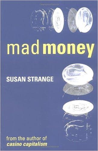 Book Mad Money by Susan Strange (1-Jan-1998)