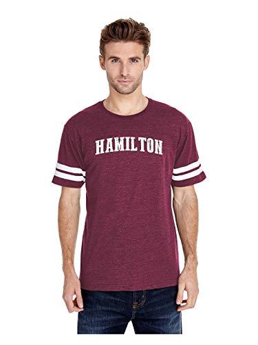 Hamilton City Ontario Canada Traveler Gift Adult Unisex Football Fine Jersey Tee (MMAR) -