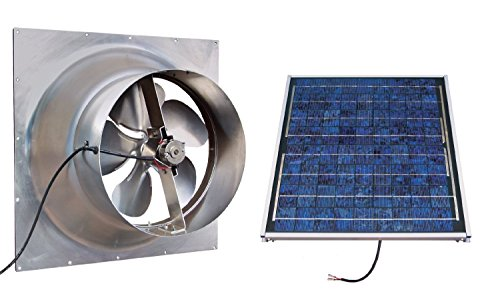 Natural Light Gable Solar Fan - 7