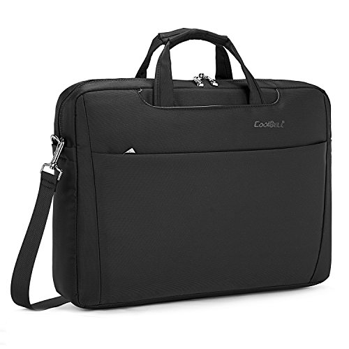 CoolBell 17.3 inch Laptop Bag Messenger Bag Multi-compart...