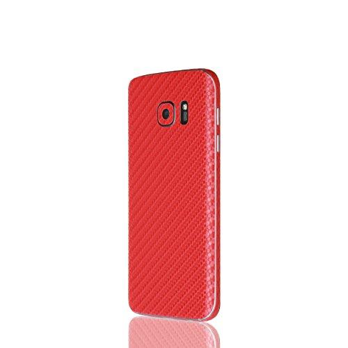 AppSkins Rückseite/Seitenteile Samsung Galaxy S7 Carbon red