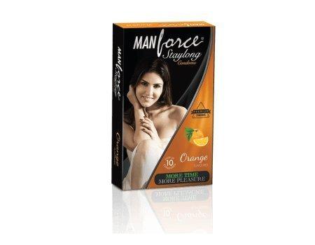 Manforce Condom Orange Flavour 10s in 1 ()