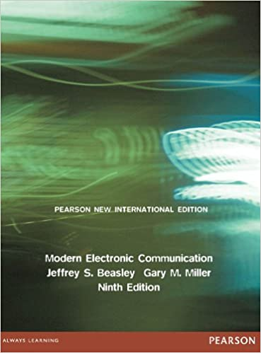 Modern Electronic Communication Ebook