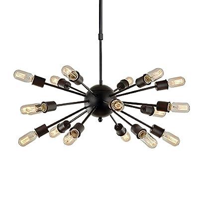 LNC Spunik Chandeliers Steampunk Pendant Lighting 18-Light Chandelier Lighting