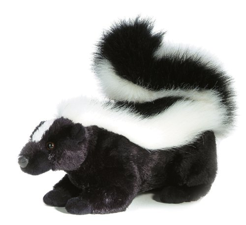 Aurora World Flopsie Sachet Plush Skunk, (Stuffed Skunk)