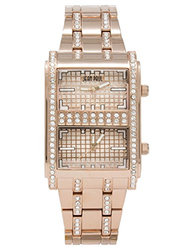 Jean Paul Men's Quartz Metal and Alloy Watch, Color:Rose Gold-Toned (Model: 32799) Gold Dakota Rose
