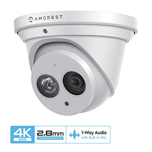 Amcrest UltraHD 4K (8MP) Outdoor Security IP Turret PoE Camera