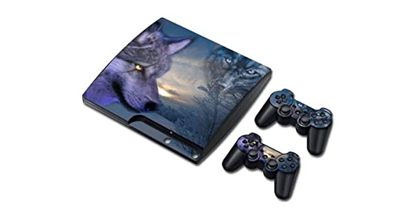 Amazon com: Vinyl Decal Skin/stickers Wrap for PS3 Slim Play Station