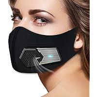 Mipan Mascarilla Facial Purificadores de Aire, Purificador eléctrico Recargable Mascarilla, Respirador de Aire eléctrico…