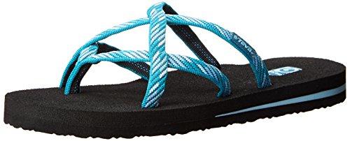 Teva Donna Olowahu Flip-flop Raina Blu