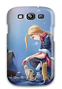 Jonathan Litt's Shop Tpu Fashionable Design Girl Rugged Case Cover For Galaxy S3 New 4818185K17782553