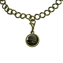 Harbour Bridge Sydney Australia Charm with Chain Bracelet