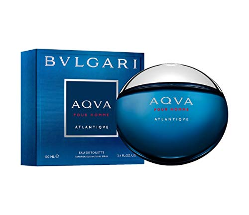- BVLGARI Aqva Atlantiqve Eau de Toilette Spray, 3.3 Ounce
