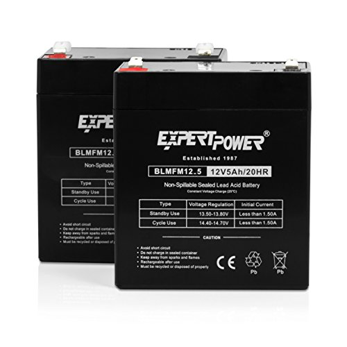 ExpertPower EXP1250 2 Alarm Battery Terminals product image