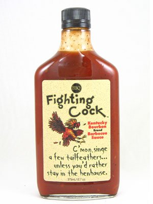 (Fighting Cock BBQ Sauce (Pack of 4))