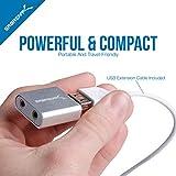 Sabrent Aluminum USB External Stereo Sound