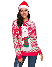 NORA TWIPS Men Women Ugly Christmas Pullover Sweatshirts 3D Digital Printed Shirts
