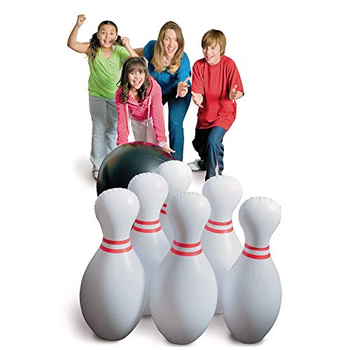 S&S Worldwide CF-10245 Jumbo Inflatable Bowling Set (Pack of 11) ()