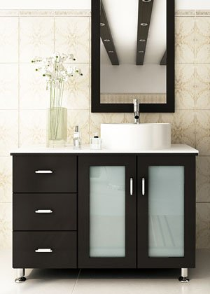 JWH Living Lune 39 in. Single Bathroom Vanity