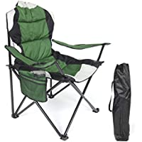 AOTOMIO Folding Camping Chair Portable Outdoor Fishing Beach Chair