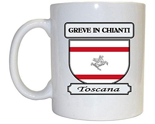 Greve in Chianti, Toscana (Tuscany) City Mug