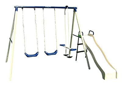 Flexible Flyer Swing N Glide III Plays Swing Set