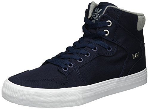 Supra Vaider LC Sneaker Navy/White Canvas sale shopping online prices cheap online discount geniue stockist dT9glg