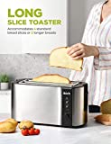 IKICH Toaster 4 Slice, Toaster 2 Long Slot