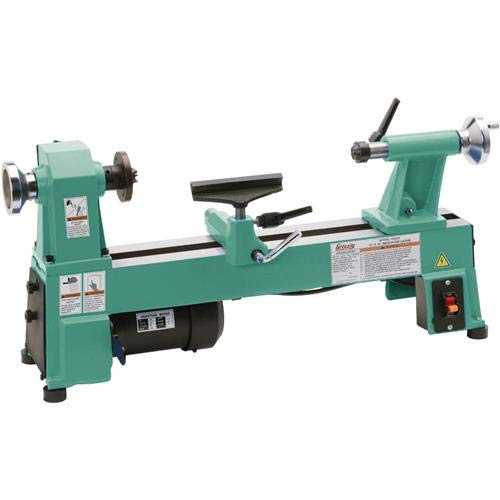 Grizzly H8259 Bench-Top Wood Lathe, 10-Inch