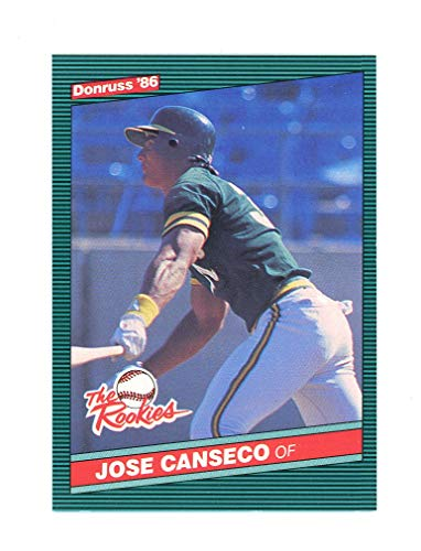 1986 Jose Canseco Rookie Card - 1986 Donruss The Rookies #22 Jose Canseco Oakland Athletics Rookie Card - Mint Condition Ships in New Holder