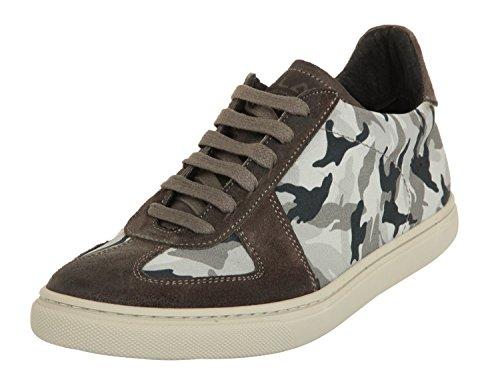 Ylati Hommes Sneakers NETTUNO Grey Camo 1065