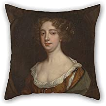 Cushion Cases 20 X 20 Inches / 50 By 50 Cm(two Sides) Nice Choice For Gf Seat Wife Kids Girls Dining Room Study Room Oil Painting Peter Lely - Aphra Behn