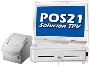 TPV completo para Hostelería con táctil de 21,5
