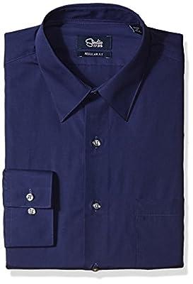 Studio 1735 Men's Dress Shirt Combo Plaid Tie reg Fit
