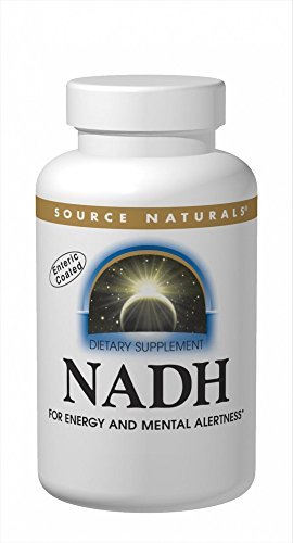 Source Naturals NADH 20mg Sublingual, Boost Energy and Mental Alertness, 10 Tablets by Source Naturals