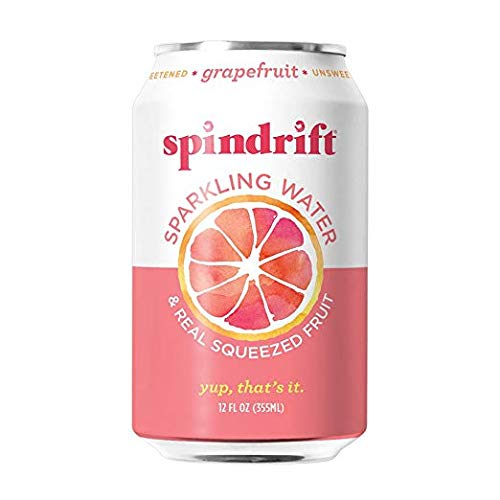 Grapefruit and Orange Mango Sparkling Water Bundle Pack, 12-Fluid-Ounce Cans, Pack of 48