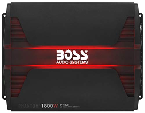 BOSS Audio Systems PF1800 4 Channel Car Amplifier - 1800 Watts, Full...