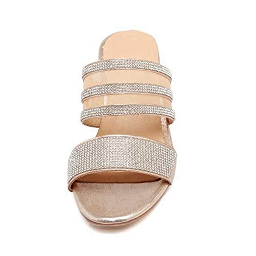 Alhainen Giy Lohko Kantapää Toimistoympäristössä Paksu Avokärkinen Sandaletit Naisten Sandaali Nilkkalenkki Mukava Liukuu q6qRAzw