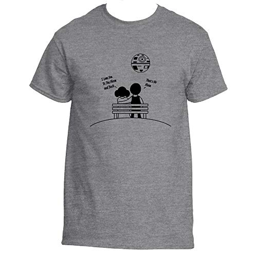 Love You To The Moon and Back Star Wars Inspired T-Shirt