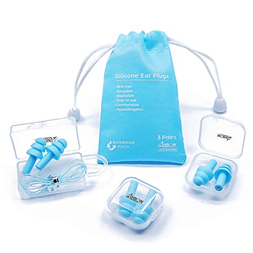 Reusable Silicone Ear Plugs