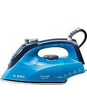 Bosch Steam Iron, Ice blue/Night blue