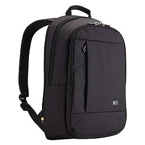 """Case Logic MLBP115K - Mochila para ordenador portátil de 15,6"""", MacBook Pro de 15"""" y tablet de 10,1"""" (nailon), color negro"""