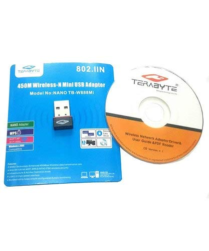 Techworld Computers Service terabyte 450m Wireless  N Mini USB Adapter