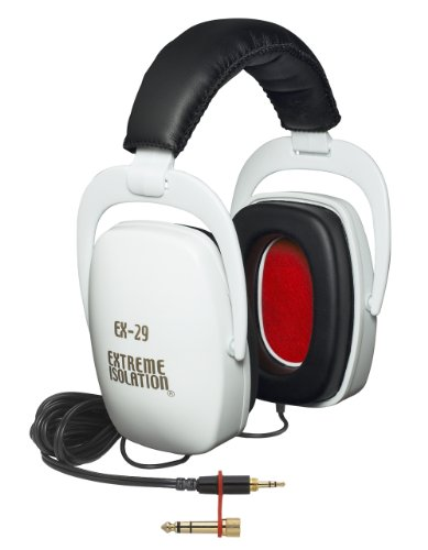 - Direct Sound EX29 Extreme Isolation Professional Headphones - White