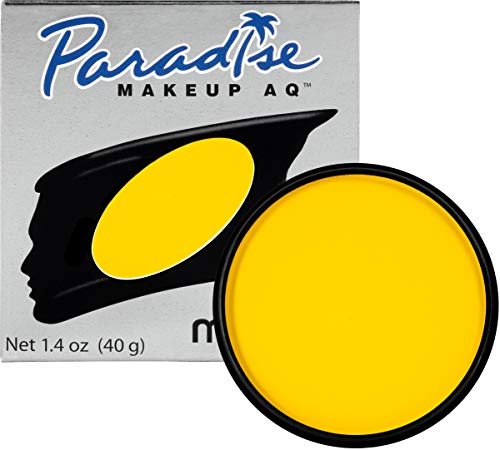 Mehron Makeup Paradise Makeup AQ Face & Body Paint (1.4 oz) (Yellow) ()